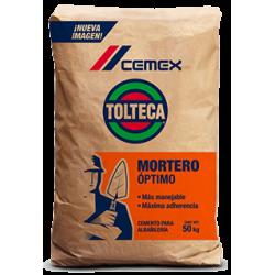 MORTERO TOLTECA BTO/50 KG.